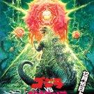 Godzilla Vs Biollante 1989 Gojira Movie Vintage Art 24x18 Wall Print POSTER