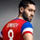Clint Dempsey Captain Jersey USA FIFA World Cup Brazil 16x12 Print POSTER