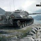 World Of Tanks Leopard I German WW2 Video Game WoT Art 16x12 Print POSTER