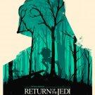 Star Wars Return Of The Jedi Darth Vader AT ST Art 16x12 Print Poster