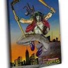 Casey Jones Teenage Mutant Ninja Turtles TMNT 40x30 Framed Canvas Print