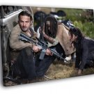 Rick Grimes Characters The Walking Dead Series 50x40 Framed Canvas Print