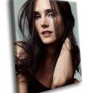 Jennifer Connelly Hot Actress 50x40 Framed Canvas Art Print