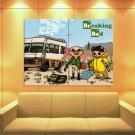 Breaking Bad Tv Series Cool Funny Art Huge Giant Print Poster