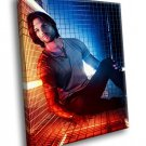 Supernatural TV Series Jared Padalecki 40x30 Framed Canvas Art Print