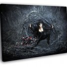 Once Upon A Time Evil Queen Lana Parrilla TV 30x20 Framed Canvas Print