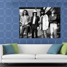 Led Zeppelin Awesome BW Hard Rock Heavy Metal Band HUGE 48x36 Print POSTER