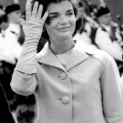 Jacqueline Kennedy Onassis Retro BW Beautiful 16x12 Print POSTER