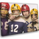 Red Hot Chili Peppers Funk Rock Band Music 50x40 Framed Canvas Print