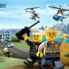 Lego City Police Forest Rangers Kids Art 32x24 Wall Print POSTER
