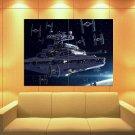 Imperial Navy Starfleet Ii Class Star Wars Destroyer Huge Giant Print Poster