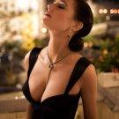Eva Green Hot Sexy Seductive Black Dress Cleavage 16x12 Print POSTER