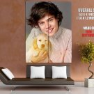 One Direction Harry Styles Puppy Cute Music Rare Giant Huge Print Poster