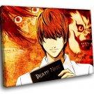 Death Note Manga Anime Light Yagami 40x30 Framed Canvas Art Print