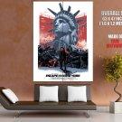 Escape From New York 1981 Movie Snake Plissken GIANT Huge Print Poster