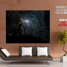 Gandalf Wizard The Hobbit The Desolation Of Smaug Giant Huge Wall Print Poster