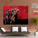 Red Dead Redemption Liars And Cheats Awesome Game Art GIANT Huge Print Poster