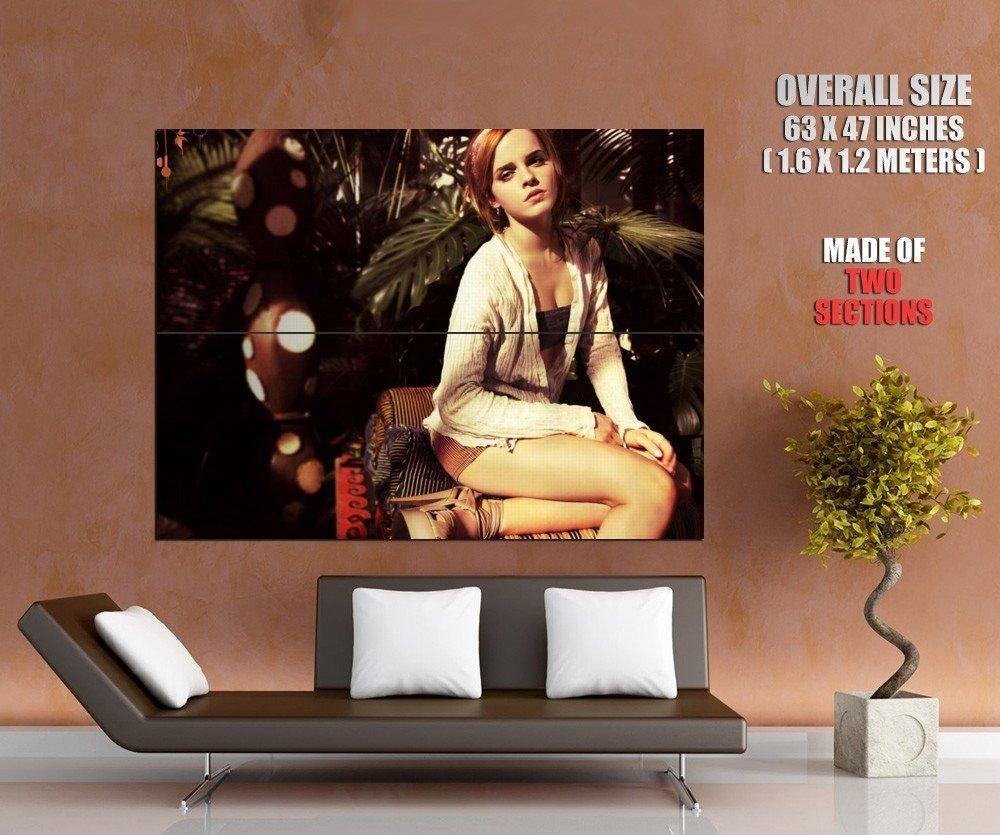 Emma Watson Hot Actress Horny Girl Sexy Legs Giant Huge Print Poster