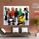 Wu Tang Clan Art Hip Hop Rap Music Giant Huge Print Poster