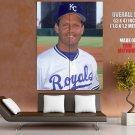 George Brett Kansas City Royals Classic Baseball Giant Huge Print Poster