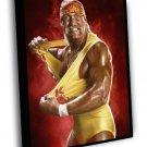 Hulk Hogan Wrestling WWE Terry Gene Bollea 50x40 Framed Canvas Print
