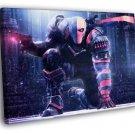 Deathstroke Batman Arkham Origins Game Art 50x40 Framed Canvas Print