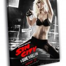 Sin City Jessica Alba Hot Movie 50x40 Framed Canvas Print