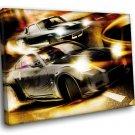 Fast Furious Tokyo Drift Movie 50x40 Framed Canvas Art Print