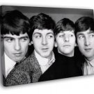 The Beatles Amazing BW Famous Rock Band Rare 40x30 Framed Canvas Print
