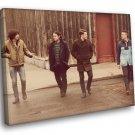 Arctic Monkeys Rock Band Rare 30x20 Framed Canvas Print