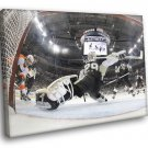 Marc Andre Pittsburgh Penguins Goaltender Fleury 30x20 Framed Canvas Print