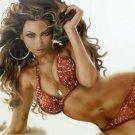 Beyonce Singer Music Sexy Bikini Sleepers Curls Art 16x12 Print Poster