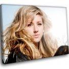 Ellie Goulding Singer Amazing Blonde 50x40 Framed Canvas Art Print