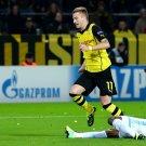 Marco Reus Sliding Tackle Borussia Dortmund Football 16x12 Print POSTER