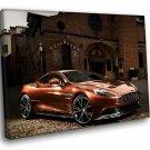 Aston Martin Vanquish Sports Car 30x20 Framed Canvas Art Print