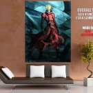 Vash The Stampede Trigun Painting Art Anime Manga Art GIANT Huge Print Poster