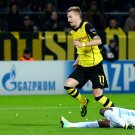Marco Reus Sliding Tackle Borussia Dortmund Football 24x18 Wall Print POSTER