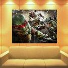 Teenage Mutant Ninja Turtles Angry Tmnt Art Huge Giant Print Poster