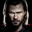 Chris Hemsworth Hot Actor 16x12 Wall Print Poster