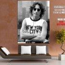 John Lennon The Beatles Sunglasses New York City 1974 GIANT Huge Print Poster