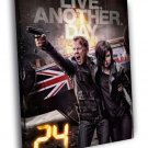 Jack Bauer 24 Live Another Day TV Series 50x40 Framed Canvas Print