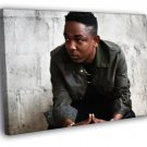 Kendrick Lamar Rapper Hip Hop Music Rap 50x40 Framed Canvas Print