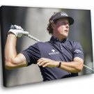 Phil Mickelson Golfer Champion Sport 40x30 Framed Canvas Art Print