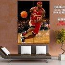 LeBron James Cleveland Cavaliers Basketball Sport Giant Huge Print Poster