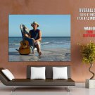 Kenny Chesney American Singer Guitar Country Music Giant Huge Print Poster