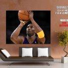 Kobe Bryant Black Mamba Basketball Sport Giant Huge Print Poster