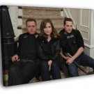 Chicago PD Cast Characters Tv Series 50x40 Framed Canvas Print
