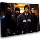 Taproot Band Nu Metal Music 40x30 Framed Canvas Art Print