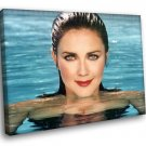 Lynda Carter Wonder Woman Actress 40x30 Framed Canvas Art Print