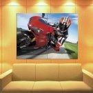 Ducati 1098 Sport Bike Racing 47x35 Print Poster